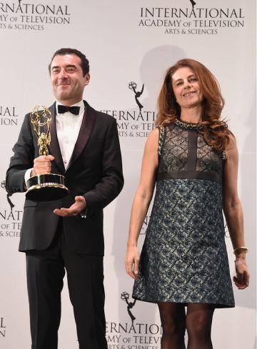 43rd International Emmy Awards - Press Room