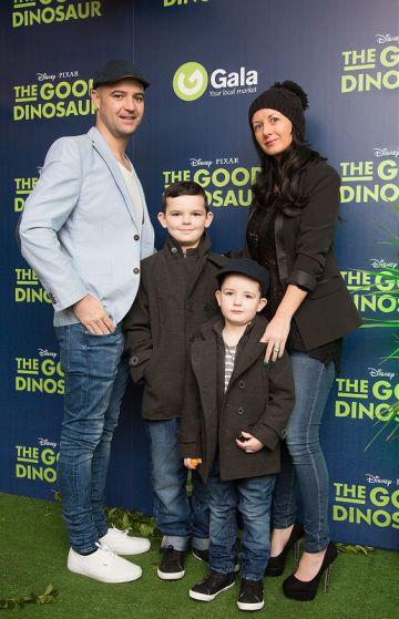 "Irish Premiere of Disney Pixar's ""The Good Dinosaur"""