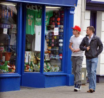 Niall Horan at home in Mullingar