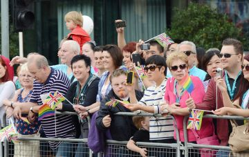 Corrie Stars Come Out In Force For Manchester Gay Pride