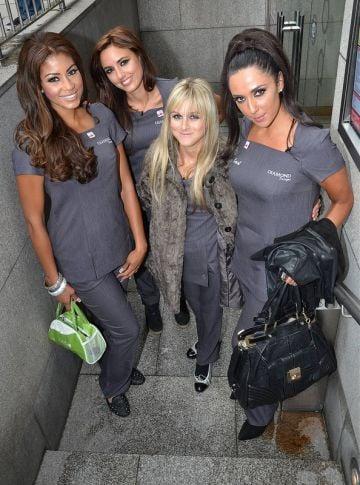 The contestants of TV3's Celebrity Salon