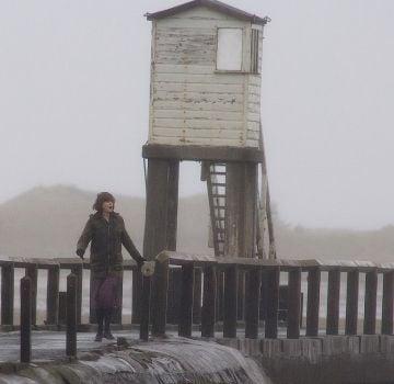 Nicole Kidman on the set of 'The Railway Man'