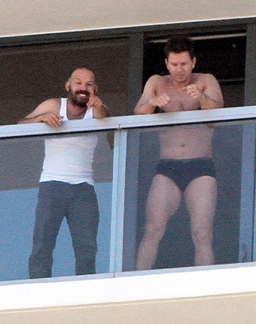 Mark Wahlberg in his pants
