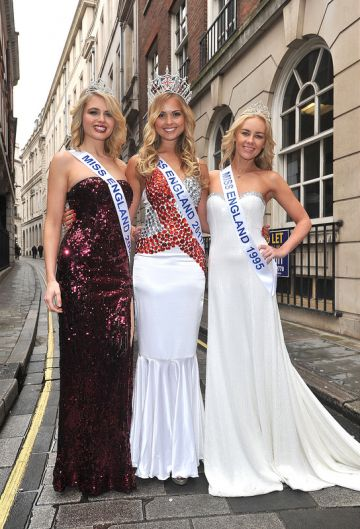 Miss England dress recycled charity auction