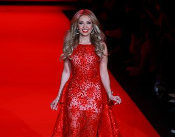 Mercedes-Benz Fashion Week Fall 2015 - Go Red For Women Red Dress Collection