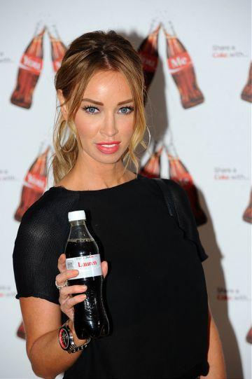 Nick Grimshaw and TV stars at Coca Cola campaign