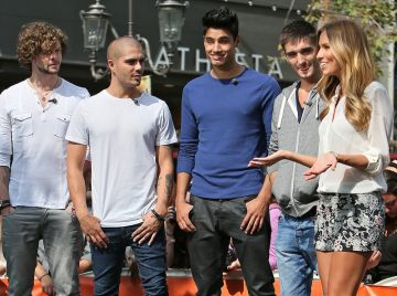 The Wanted and Cat Deeley 's US interview