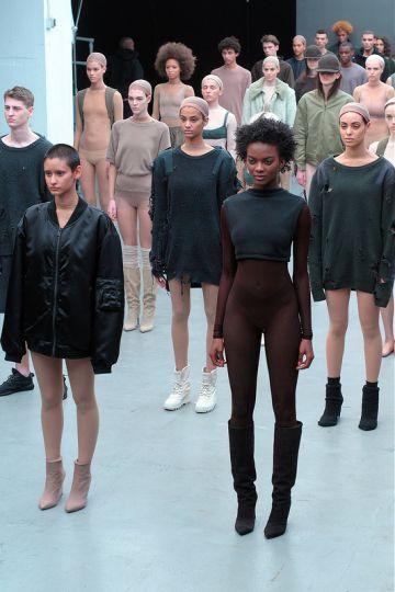 Kanye West and Adidas Originals - Mercedes Benz Fashion Week