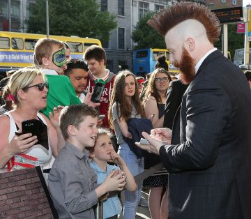 Irish premiere of 'Teenage Mutant Ninja Turtles: Out of the Shadows'