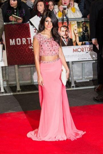 UK premiere of 'Mortdecai'