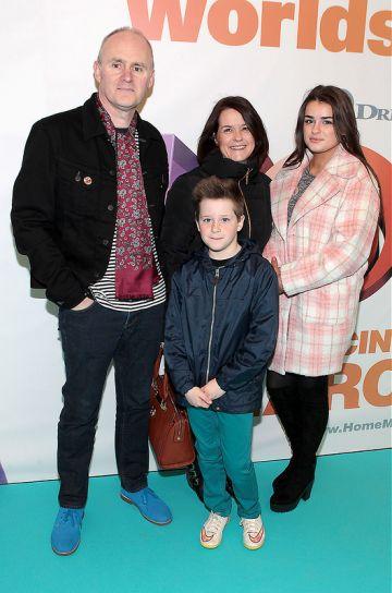 Irish Premiere of Home at Odeon Point Village