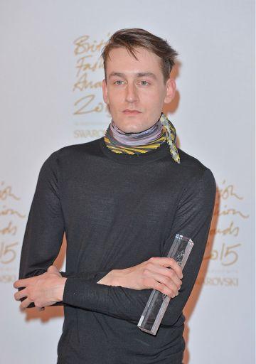 British Fashion Awards 2015 - Winners Room