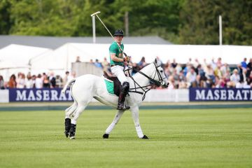 Prince Harry plays at the Maserati Jerudong Park Trophy