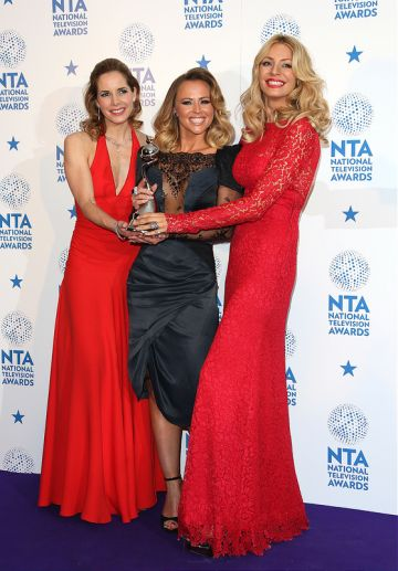 The 2013 National Television Awards - Press Room