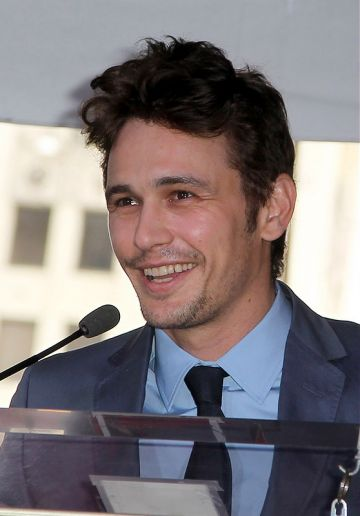 James Franco is honoured on The Hollywood Walk of Fame