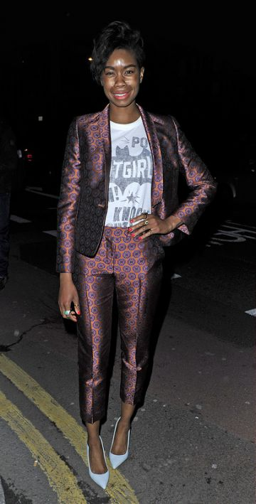 Celebs about town for London Fashion Week
