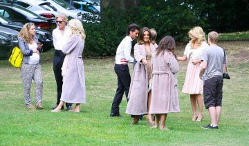 The cast of 'Made In Chelsea' Messing About