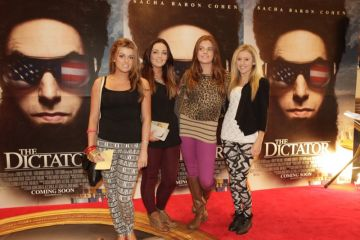 The Dictator Irish Premiere Red Carpet