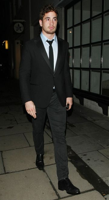 Celebs Leave The Rose Club London