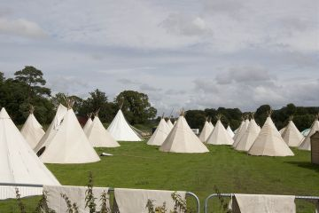 Taking shape at Electric Picnic 2012