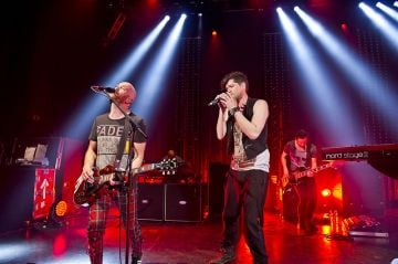 The Script performing live at the Shepherds Bush Empire.