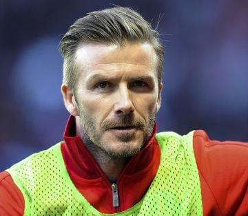 The Beckhams watch David play in Paris