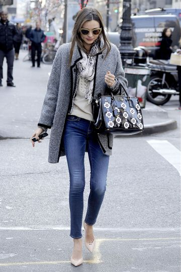Miranda Kerr in Manhattan