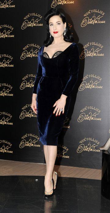 Dita Von Teese launches her Von Follies lingerie