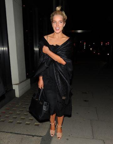 Helen Flanagan out in Mayfair