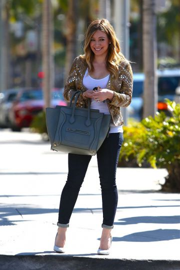 Hilary Duff is all set for Valentine's