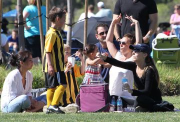 Britney Spears soccer Mom