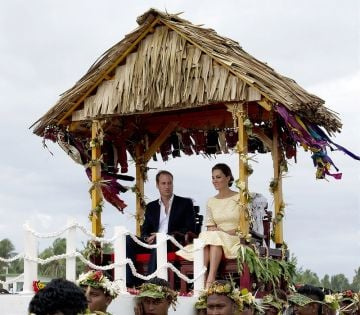 Prince William and Catherine in Fiji