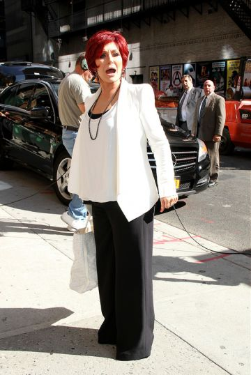 At the 'The Late Show with David Letterman'