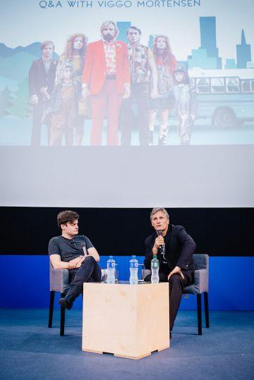 Viggo Mortensen Q&A in Dublin at the premiere of Captain Fantastic