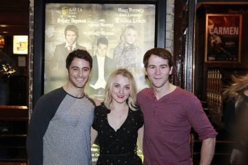 Houdini Premiere with Harry Potter's 'Luna Lovegood' Evanna Lynch,Stuart Brennan and Jamie Nichols.