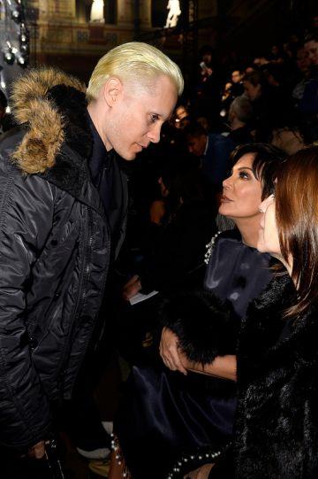 Celebs at Paris Fashion Week