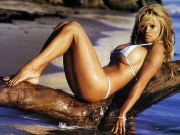 Pamela Anderson: Beach Babe or Bum?