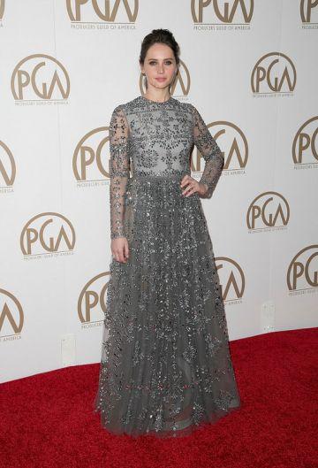 Awards Season Red Carpet Showdown: Marion Cotillard and Felicity Jones
