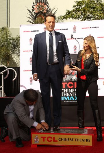 Vince Vaughn Handprints and Footprints Ceremony
