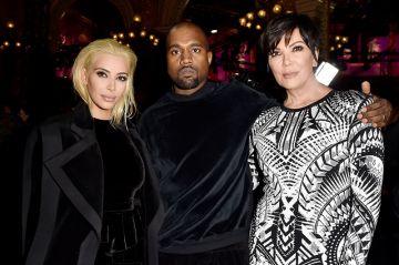 Kim K Goes Blonde at Paris Fashion Week