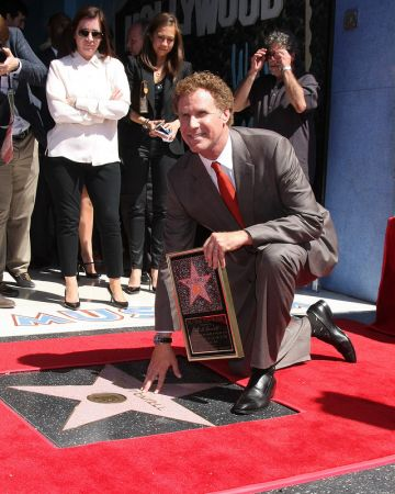 Will Ferrell gets a Star on The Hollywood Walk Of Fame