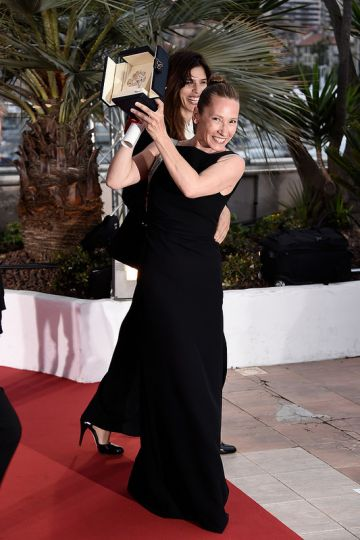 Palm D'Or announcement at the 68th annual Cannes Film Festival