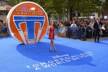 Tomorrowland: A World Beyond European premiere