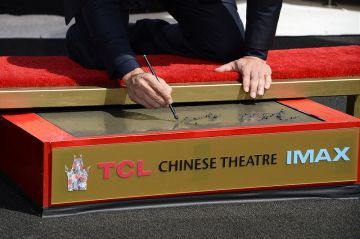 Vin Diesel's hand and footprint ceremony in Hollywood
