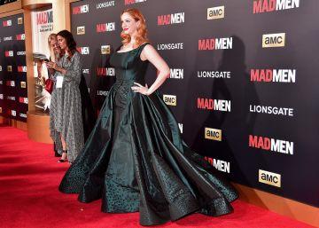 'Mad Men' Black & Red Ball for Season 7 Premiere