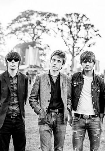 The Strypes at the Vodafone World of Difference tent at Electric Picnic 2014