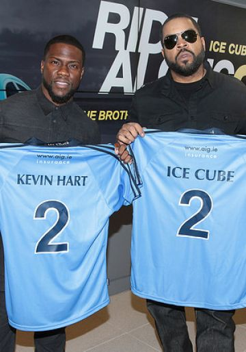 Kevin Hart and Ice Cube in Dublin