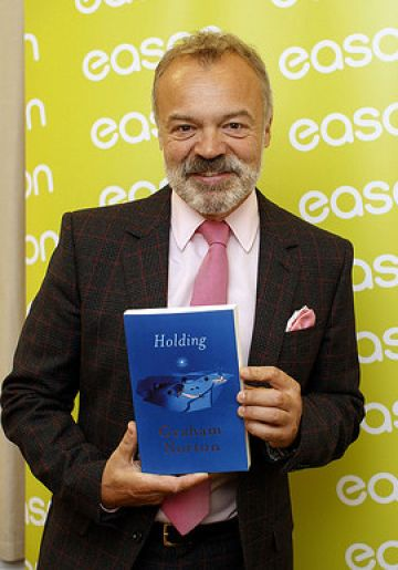 Graham Norton in Dublin with New Book 'Holding'