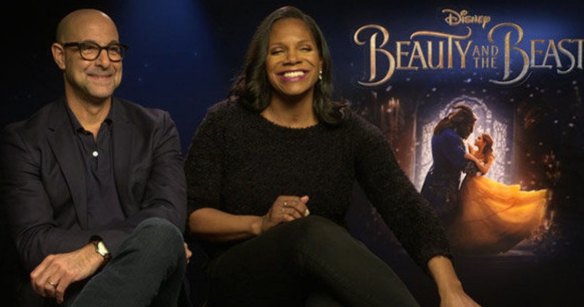 Stanley Tucci Audra Mcdonald Beauty And The Beast