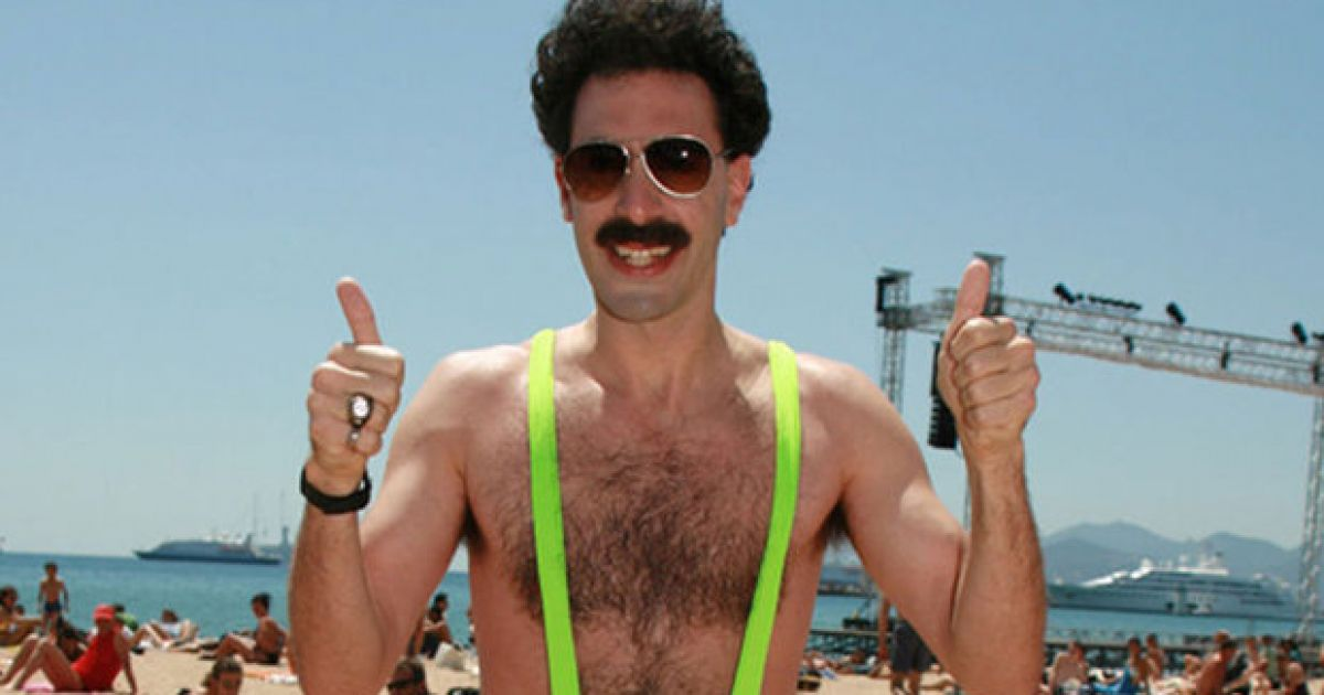 f143a8122bacc Sacha Baron Cohen has offered to pay the fines of tourists arrested for wearing  Borat mankinis